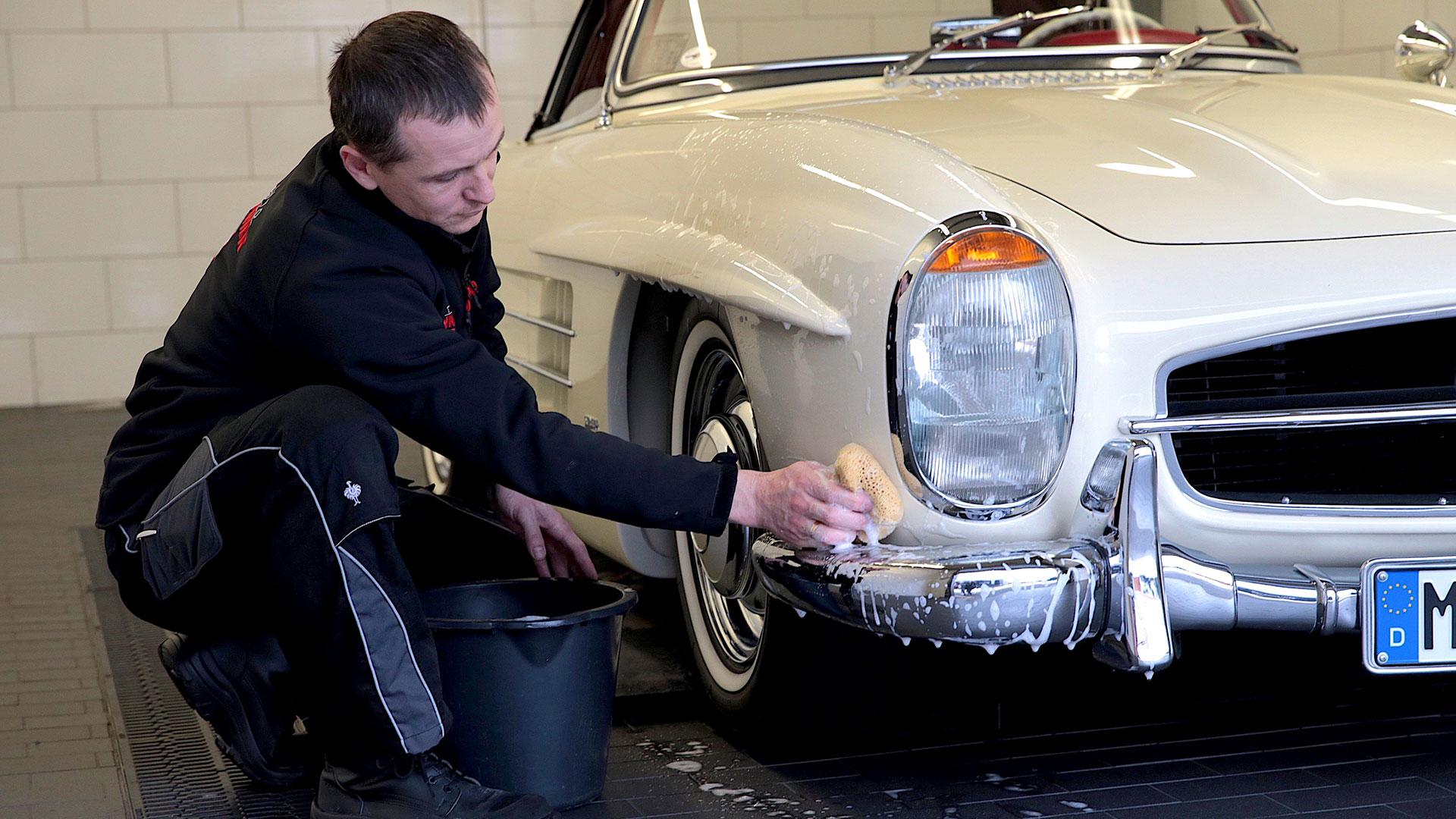 SSR Classic – Autopflege Ausseneinigung