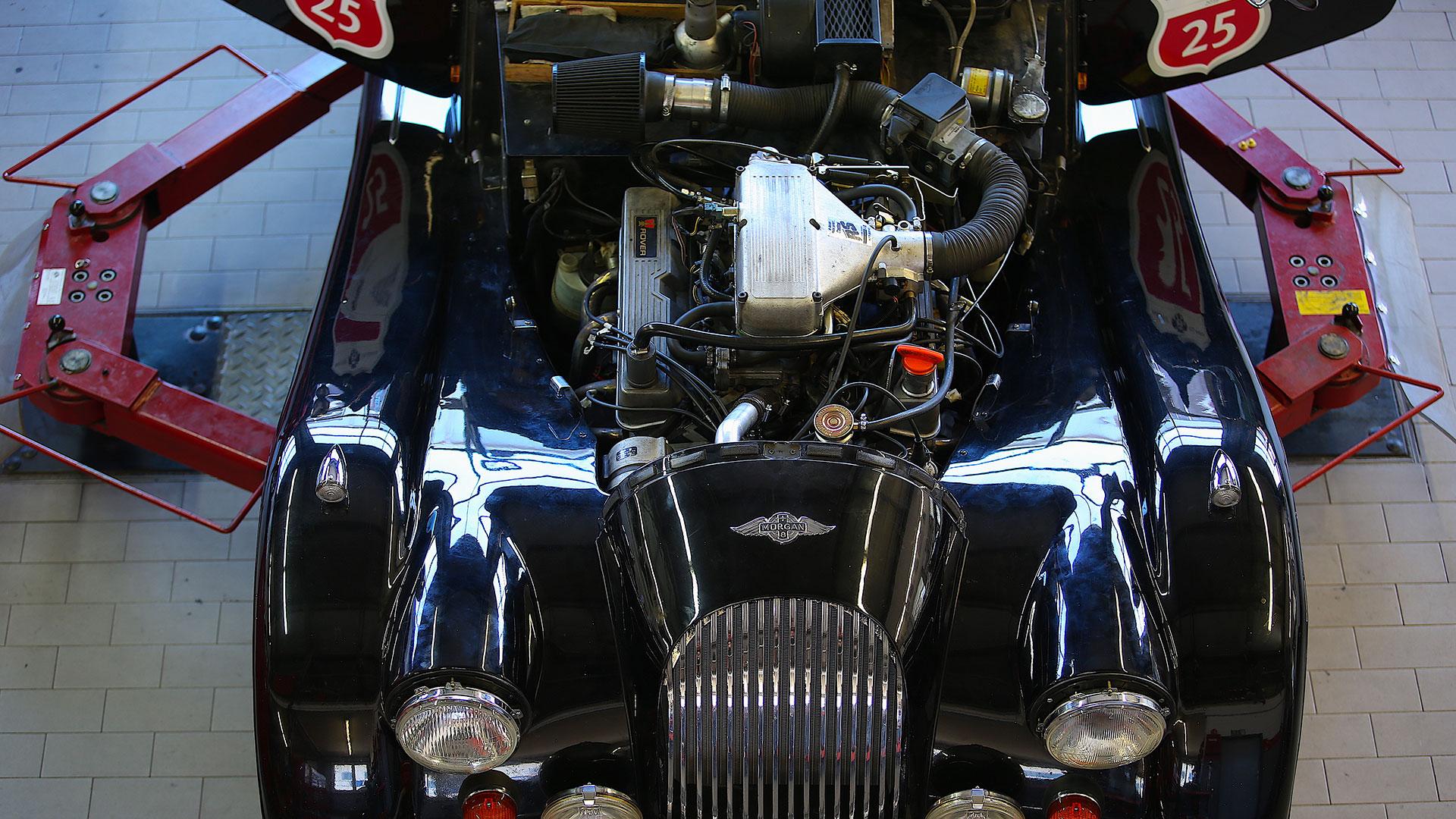 SSR Classic – Morgan Service Motorinstandsetzung Werkstatt