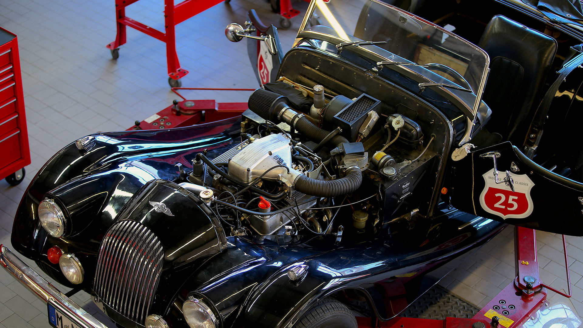 SSR Classic – Morgan Service Mechanik Motorraum