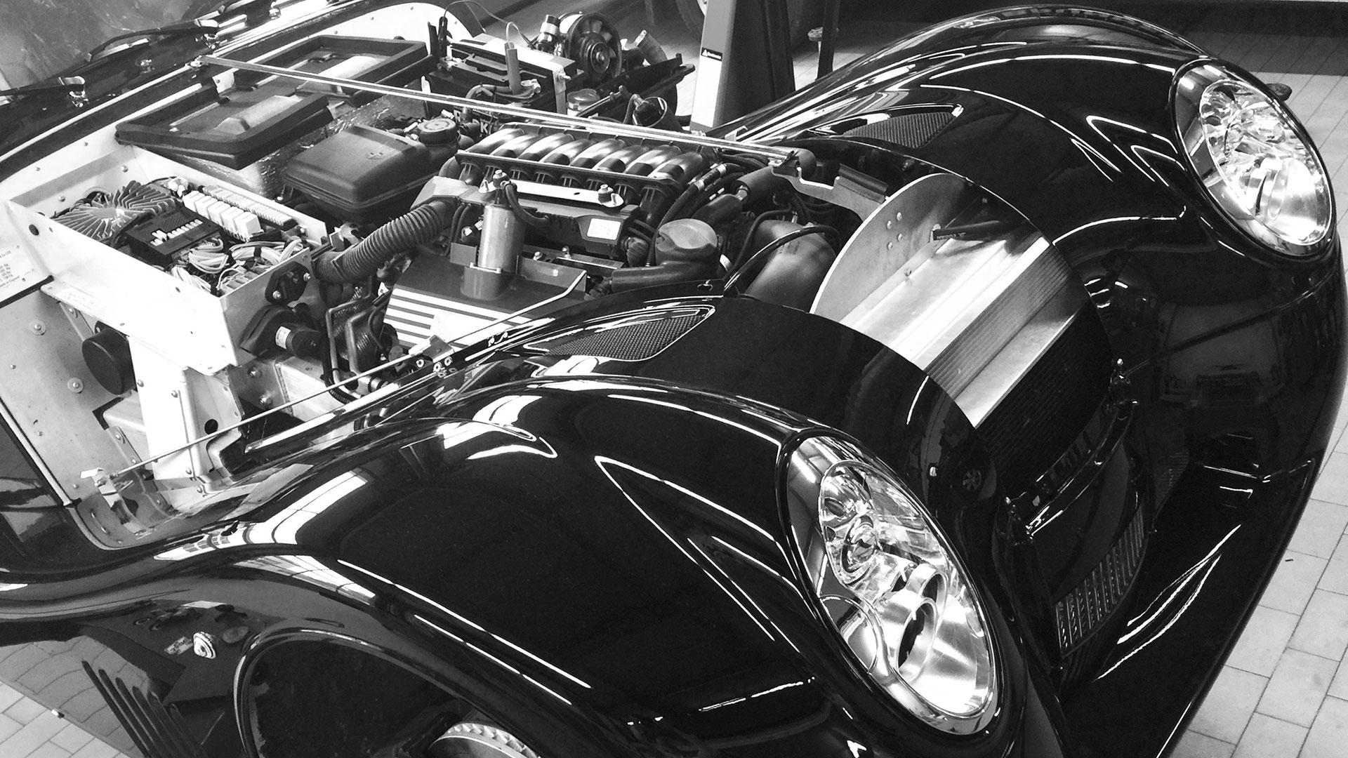 SSR Classic – Oldtimer Karosseriebau Front