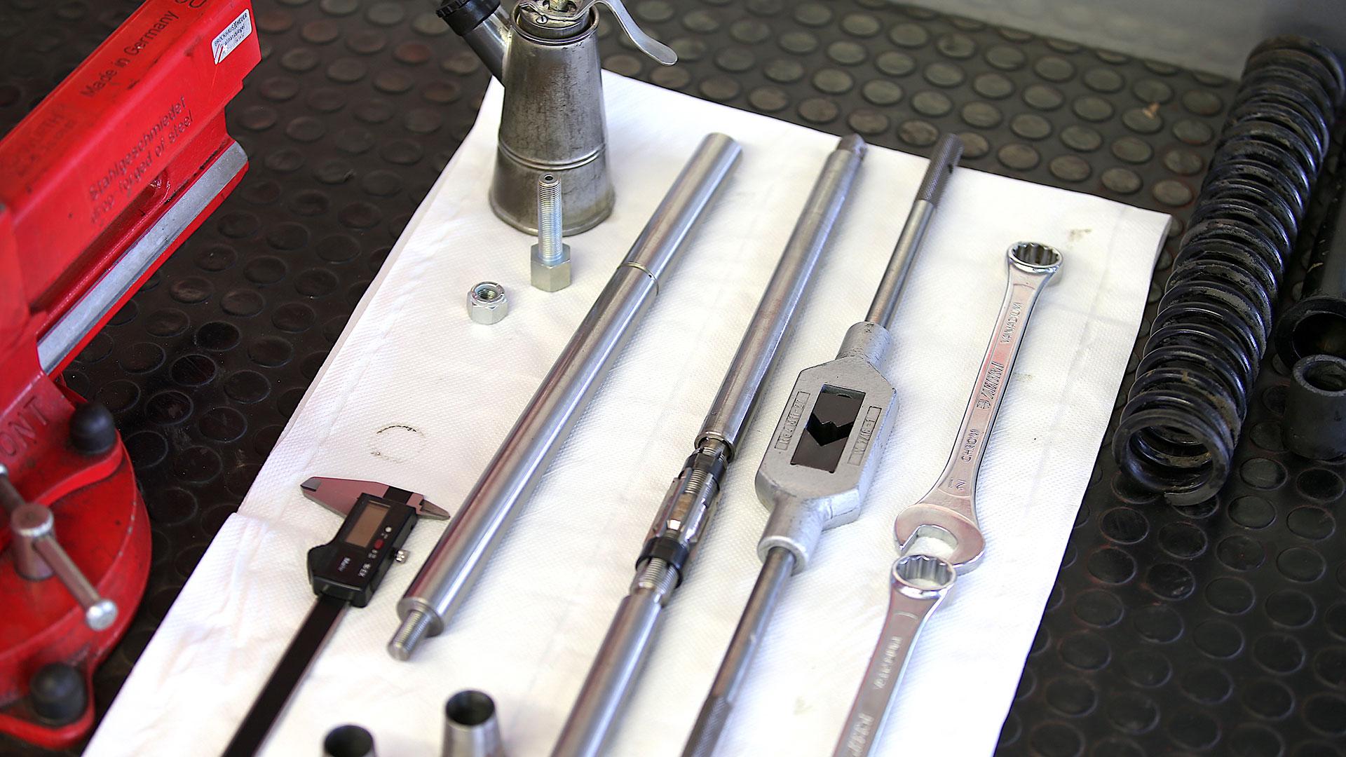 SSR Classic – Werkzeug