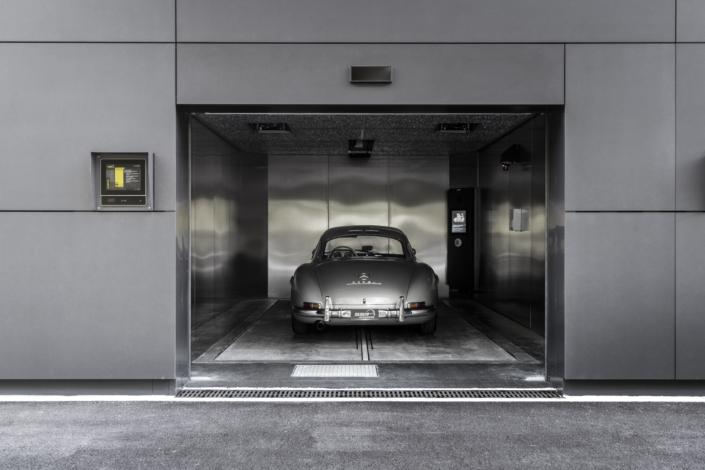 SSR Performance Aufzug zur Stickstoffgarage